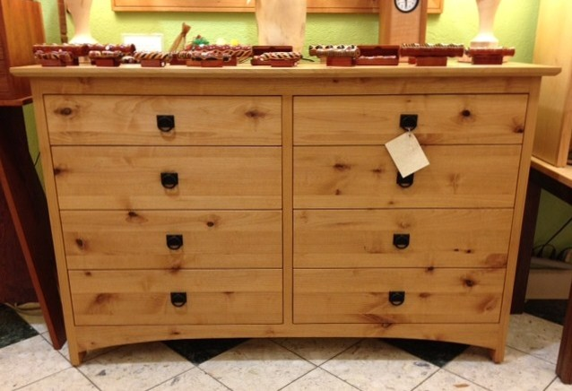 "Solid Knotty Alder ""Prairie"" Dresser - Contemporary - denver - by Boulder Furniture Arts"