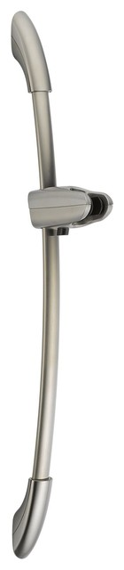 """Delta 55041-SS-PK Contemporary 28"""" Wall Bar with Adjustable Mount in Stainless traditional-showerheads-and-body-sprays"""