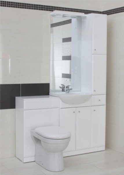 Adele Vanity Unit , Mirror, BTW Unit and Tall Boy Unit contemporary-bathroom-vanities-and-sink-consoles