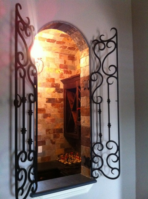 Wine Grotto Window Gate