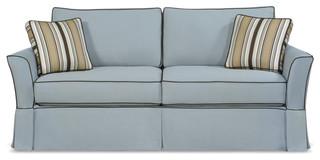 Slipcover Sofa 2 Seat DE Contemporary Sofas