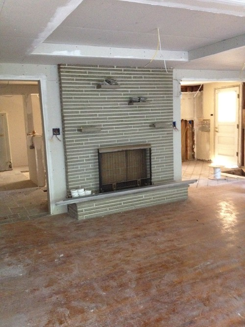 Keep Or Resurface This Fireplace Surround In Gutted
