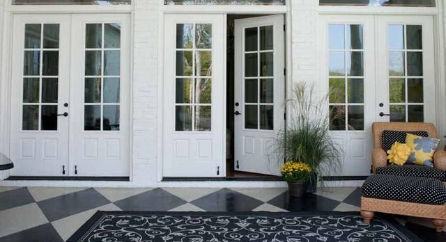Fiberglass & Steel Doors traditional-front-doors