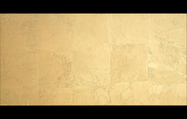 "Pan de Oro by Dune - 12x24"" glass wall tile contemporary-tile"