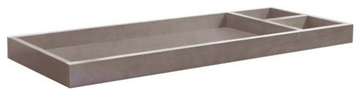 Franklin & Ben - Mason Changing Tray, Weathered Grey contemporary-changing-tables