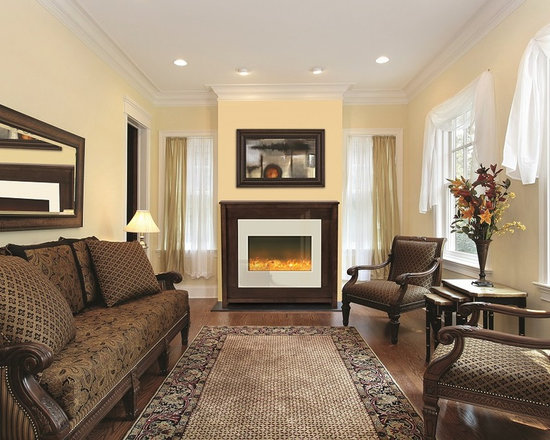 Amantii ZECL-30-3226 with Espresso Mantel - Jeanne Grier/Stylish Fireplaces & Interiors