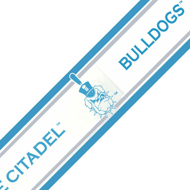 NCAA Citadel Bulldogs College Accent Wallpaper Border Roll - Contemporary - Game Room And Bar ...