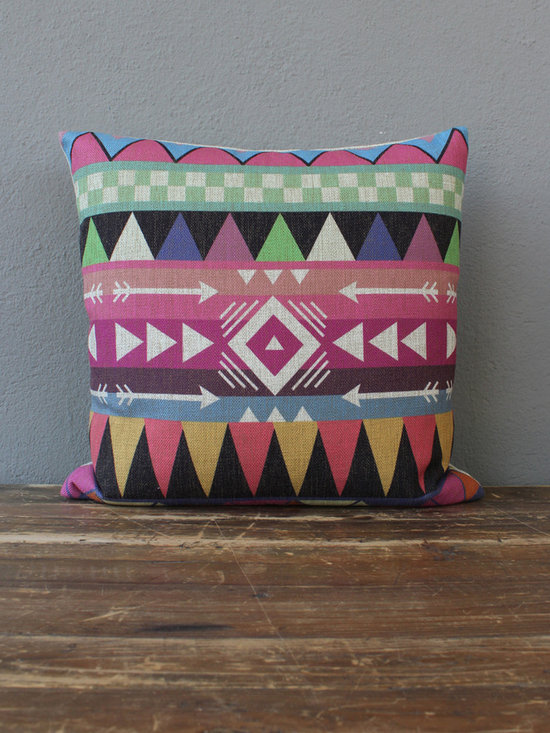 arrows pillow - view this item on our website for more information + purchasing availability: http://redinfred.com/shop/category/detail/throw-pillows/arrows-pillow/