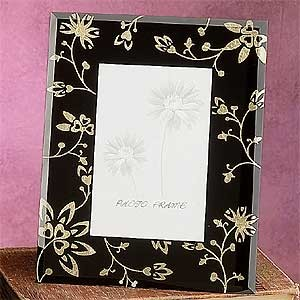 Picture Frame Decoration Collectible Photograph Hand Imprinted Glass farmhouse-frames