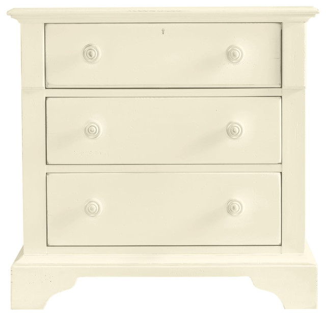 Coastal Living Cottage Three-Drawer Night Stand contemporary-nightstands-and-bedside-tables