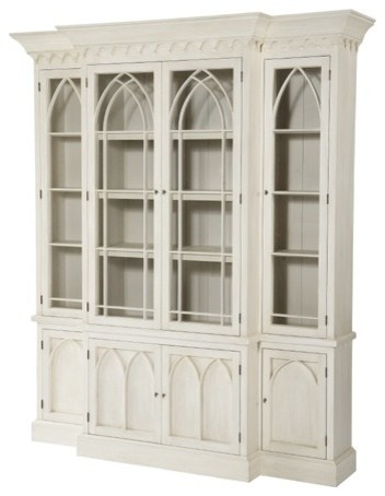 NeoGothic Breakfront - Minor buffets-and-sideboards