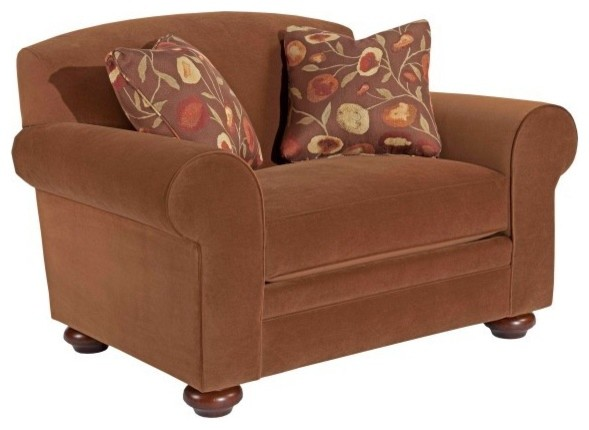 Broyhill Bryson Extra Wide Chair With Two Pillows 4932