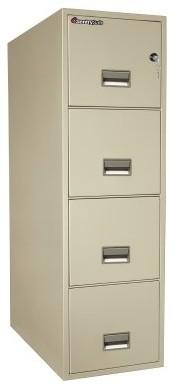 SentrySafe G3131 Water Resistant 4-Drawer Legal Vertical Filing Cabinet - modern - filing ...