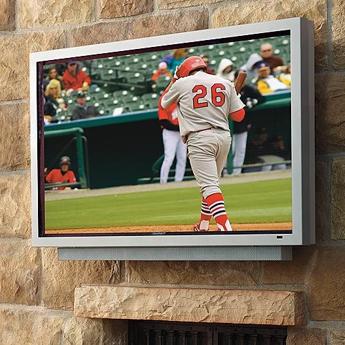 """HD LCD Outdoor Television - 55"""" - Frontgate traditional-home-electronics"""