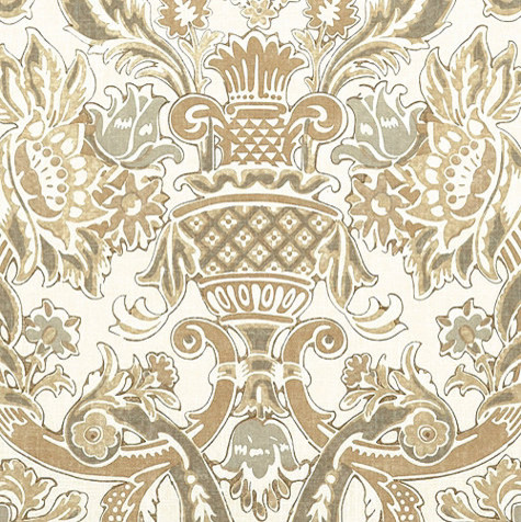 Palomar Sand Fabric By the Yard traditional-upholstery-fabric
