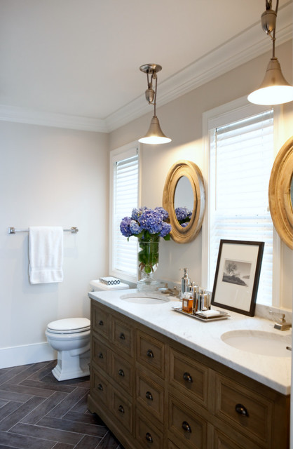 Elizabeth Reich, Interior Design eclectic bathroom