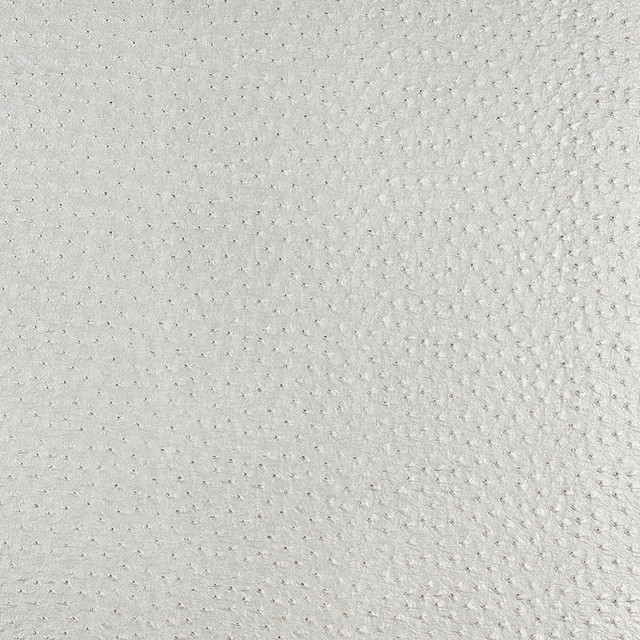 Pearl Raised Emu Look Faux Leather Vinyl By The Yard contemporary-upholstery-fabric