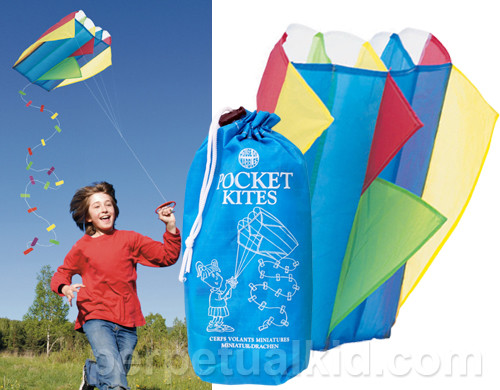 Pocket Kite by Perpetual Kid eclectic kids toys