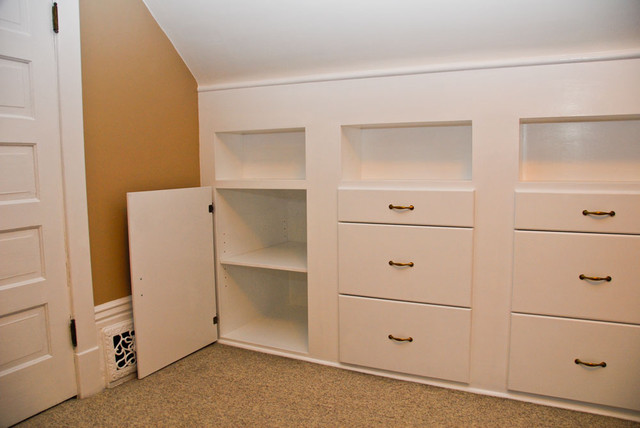 Quilt room built in cabinets - Traditional - Storage And Organization ...