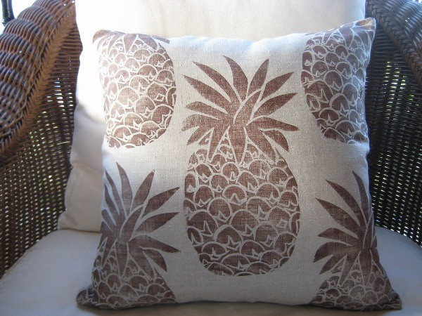Brown Pineapple Pillow traditional-decorative-pillows