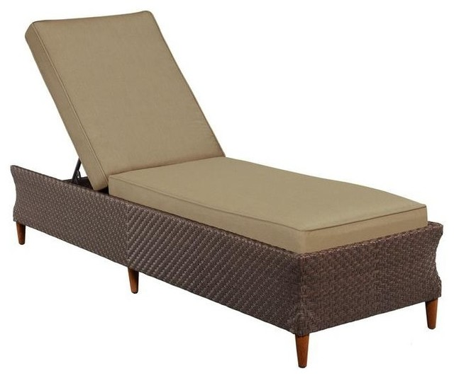 Brown jordan chaise lounges marquis patio chaise lounge in for Brown and jordan chaise lounge