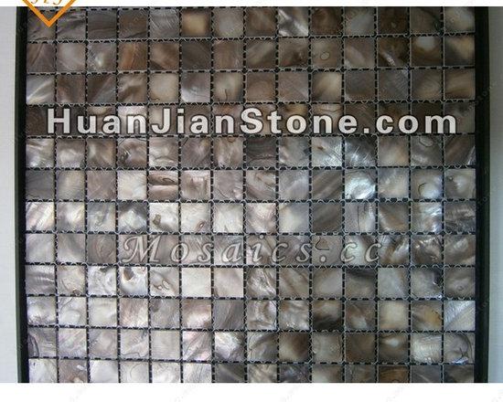 indoor/outdoor wall, floor, bathroom, kitchen and bedroom, etc. - Natural shell mosaic tiles - Wall decoration
