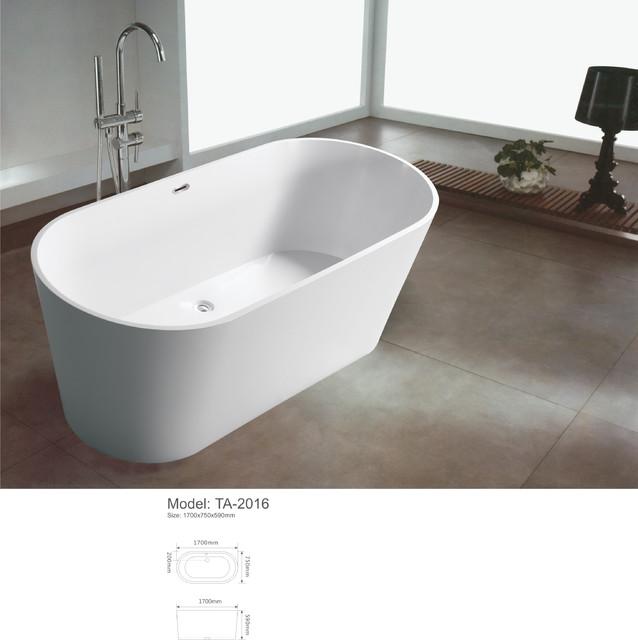 modern freestanding bathroom bathtub modern-bathtubs