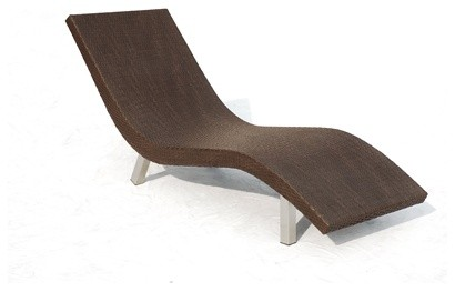 Keka Sunbed contemporary outdoor chaise lounges