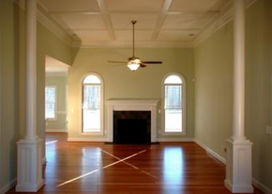 Custom Home traditional-living-room