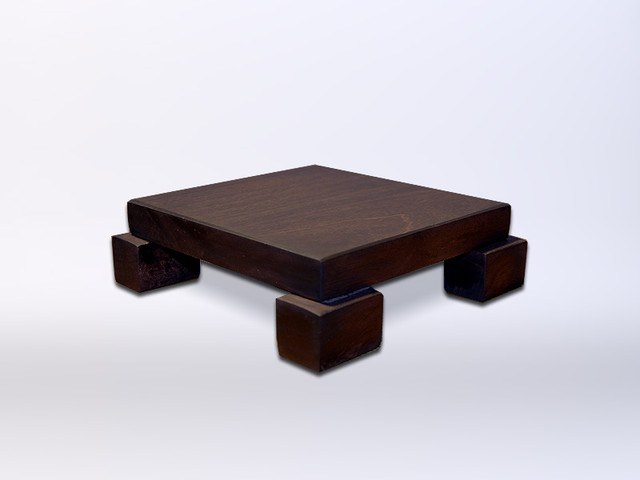 Handcrafted Wood Stands, Risers, Pedestals, Tables modern