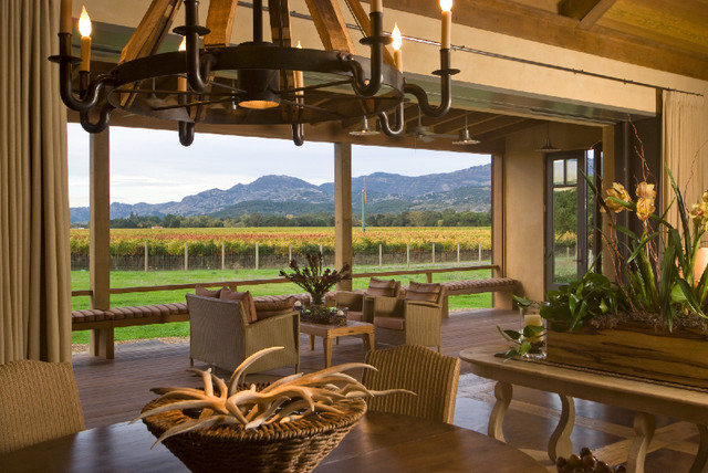Napa Farmhouse contemporary