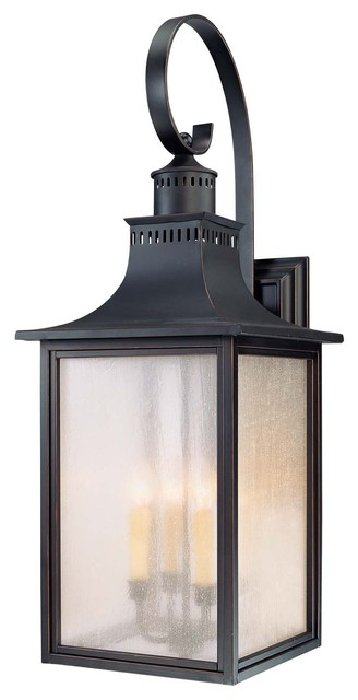 Monte Grande Wall Mount Lantern modern-outdoor-wall-lights-and-sconces