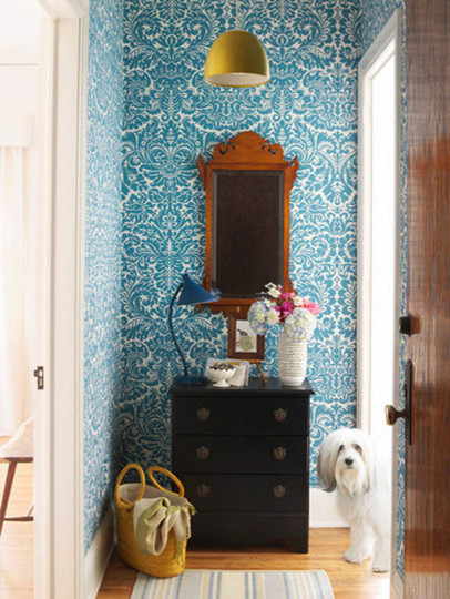 Neat & Beautiful Entryways Organization Inspiration | Apartment Therapy DC eclectic-entry