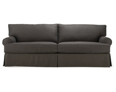 Nicki II Slipcovered Sofa modern-sofas