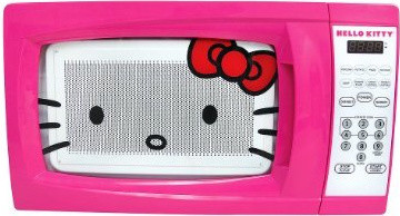 Hello Kitty Microwave eclectic-microwave-ovens