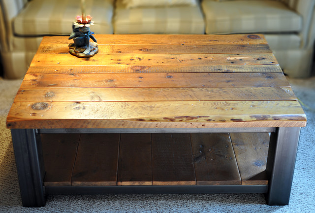 Rustic Refinery Coffee Tables Other Metro