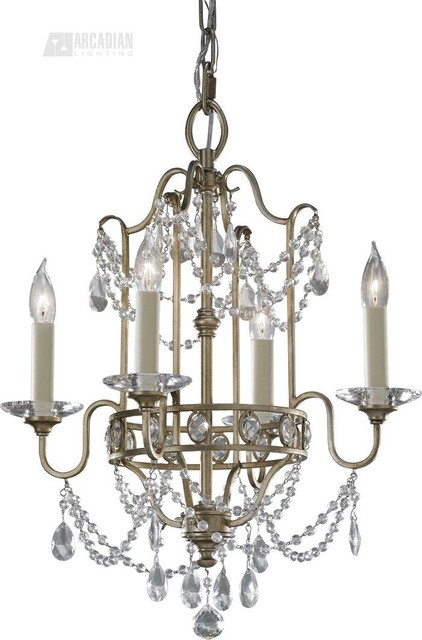 Murray Feiss MRF-F2476-4GS Gianna Traditional Mini Chandelier traditional-chandeliers