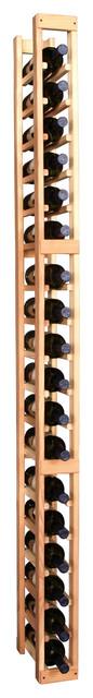 1 Column Standard Cellar Kit in Pine traditional-wine-racks