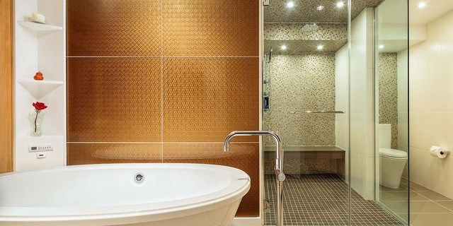 Modono Glass Bathroom Accents tile