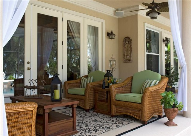how to decorate a small screened in lanai joy studio ForSmall Lanai Decorating Ideas