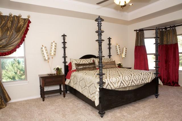 Model Home modern-bedroom
