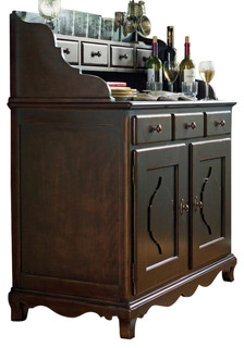 Paula Deen Home Low Country Hutch Sideboard in Linen - Furniture - by Bedroom Furniture Discounts