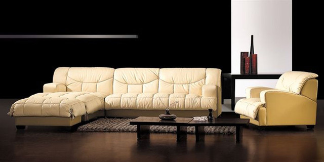 High End 100% Italian Leather Sectional contemporary-sectional-sofas