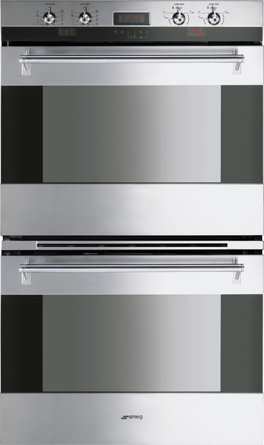 "30"" Double Electric Oven DOU330X - Modern - Ovens - new york - by Smeg ..."