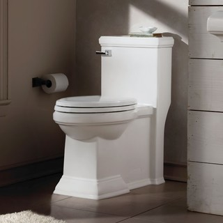 American Standard Town Square FloWise RH Elongated 1-Piece Toilet - Toilets - new york - by ...