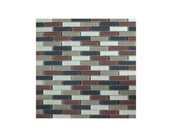 Beige Cross Glass Mosaic -