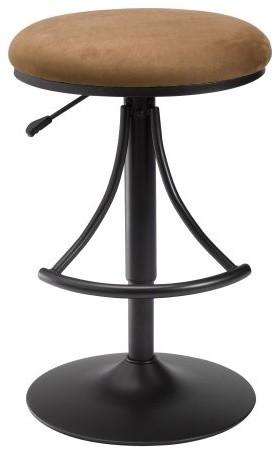 Hillsdale Venus Adjustable Height Backless Swivel Bar