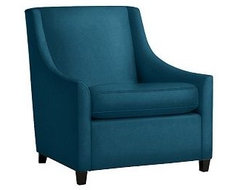 Sweep Upholstered Armchair contemporary-armchairs-and-accent-chairs