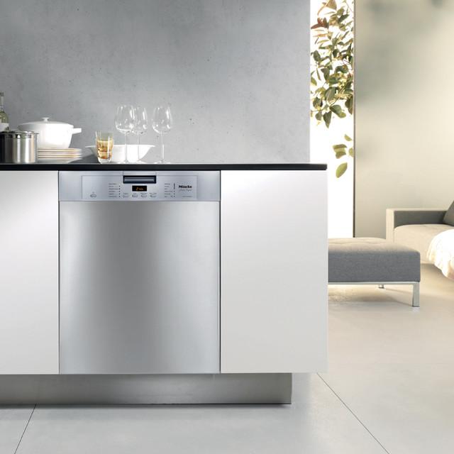 Miele futura crystal dishwasher dishwashers new york - Miele kitchen cabinets ...