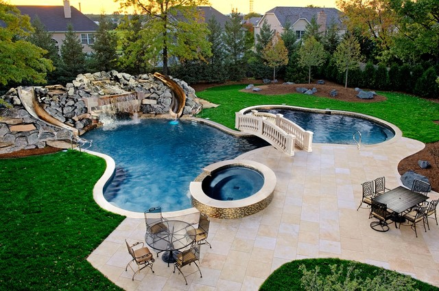 northbrook il freeform pool spa grotto as featured on